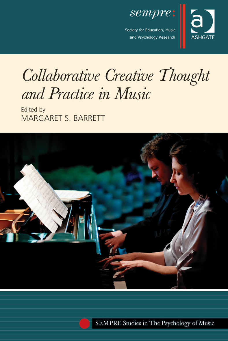 book cover for Collaborative Creative Thought and Practice in Music