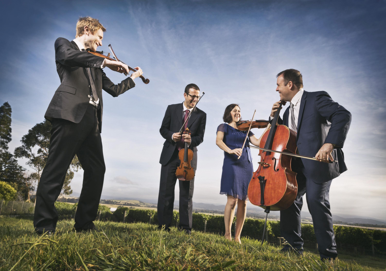 Tinalley String Quartet joins UQ as Ensemble in Residence