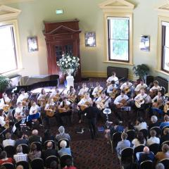 Aurora Guitar Ensemble at Customs House
